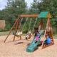 Sunview II Wooden Swing Set