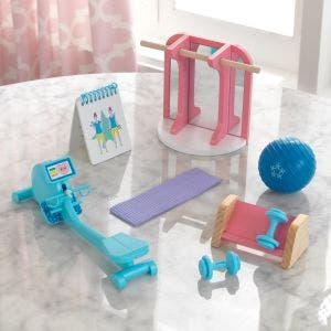 Dollhouse Accessory Pack: Home Gym