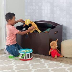 Austin Toy Box - Espresso