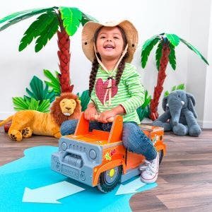 Safari 2-in-1 Ride and Play with EZ Kraft Assembly™
