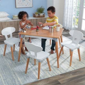 Mid-Century Kid™ Toddler Table & 4 Chair Set