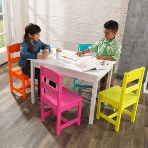 Highlighter Table & 4-Chair Set