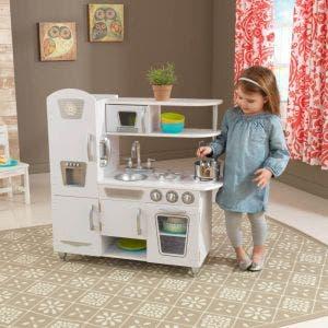 Vintage Play Kitchen - White