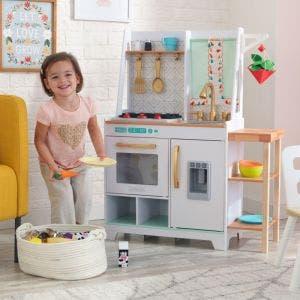 Boho Bungalow Wooden Play Kitchen