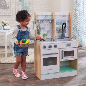 Let's Cook Play Kitchen - Natural