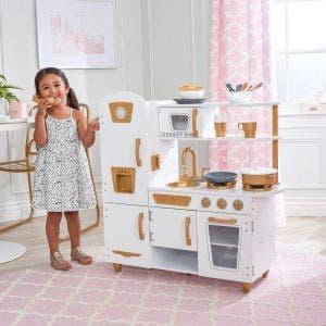 Modern White Play Kitchen