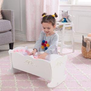 Tiffany Bow Doll Cradle