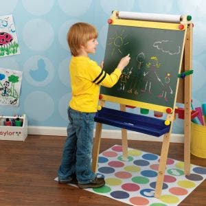 Artist Easel with Paper Roll- Primary