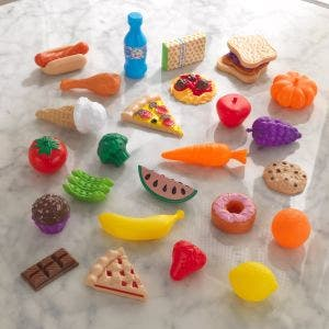 30-pc Play Food Set