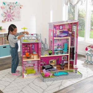 Uptown Wooden Dollhouse