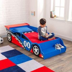 Racecar Toddler Bed