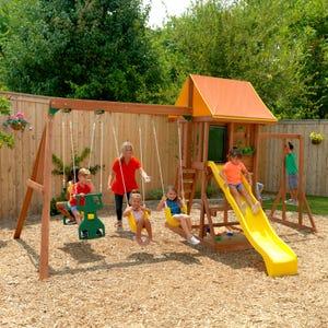 Cedarbrook Wooden Playset