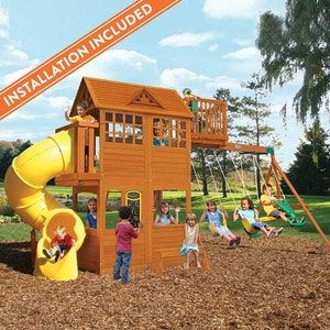 Playsets With Installation Kidkraft