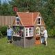 Greystone Cottage Playhouse with EZ Kraft Assembly™