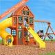 Weston Lodge Deluxe Wooden Playset