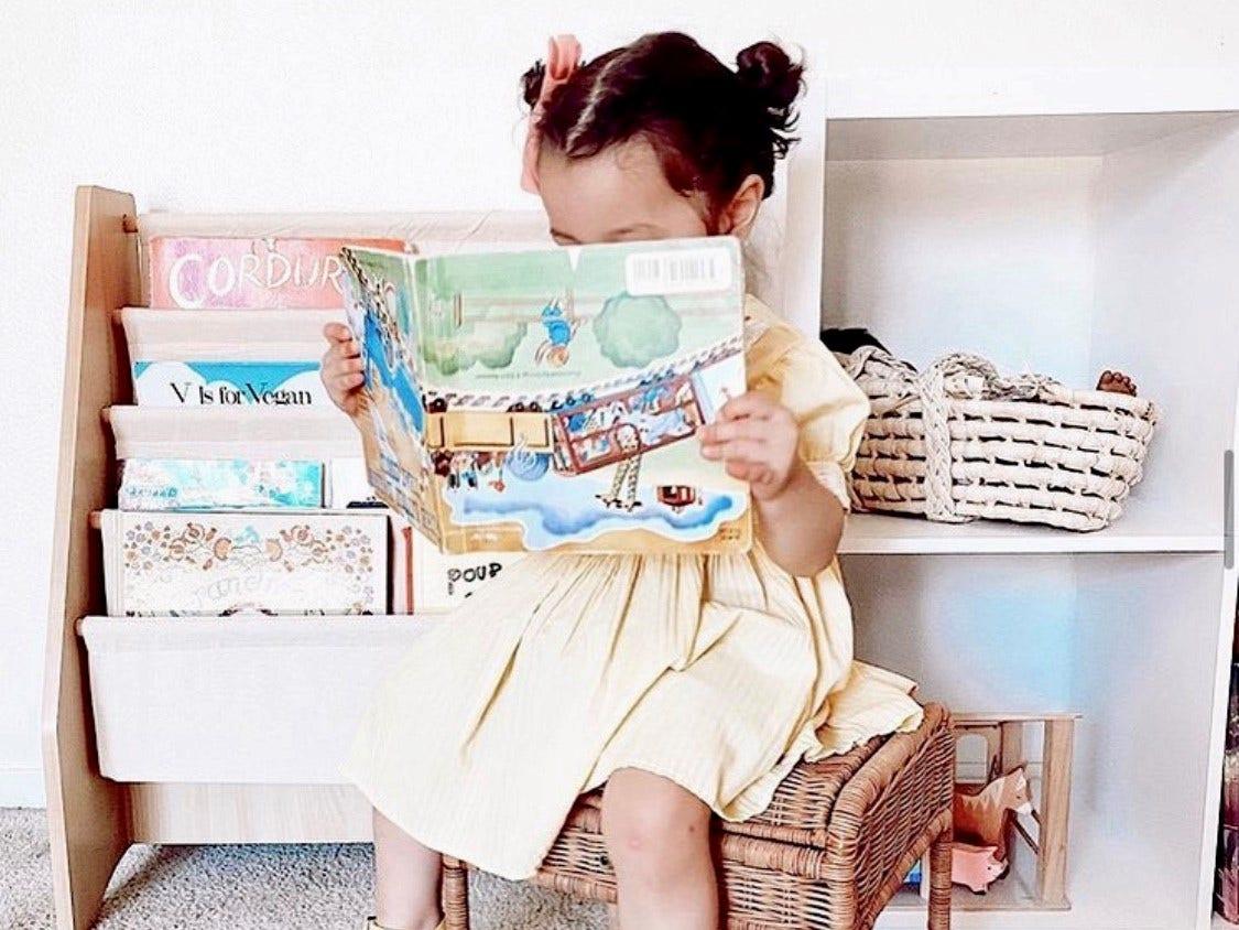 Kids Bookshelf Styling Tips