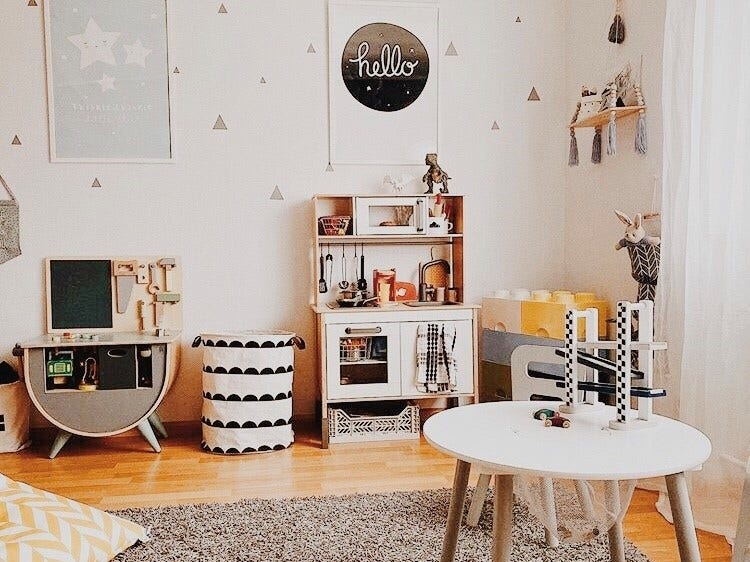 How to Set Up A Playroom for Toddlers