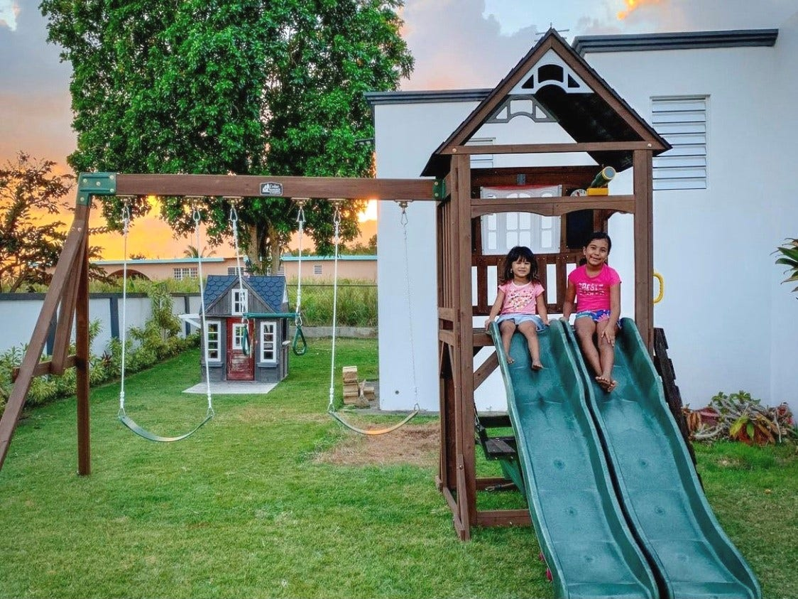 How to Maintain Your Wooden Swing Set