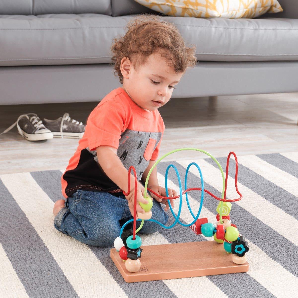 Kids Play Bead Maze