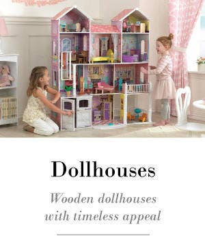 Children's dollhouses with timeless appeal