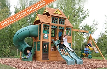 Outdoor Playhouses - Playsets, Sandboxes & Swing Sets ...